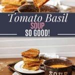 instant pot tomato basil soup so good