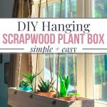 how to make a scrapwood plant box