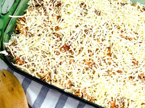 rotini bake out of oven