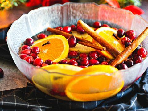 Cranberry Citrus Stovetop Potpourri